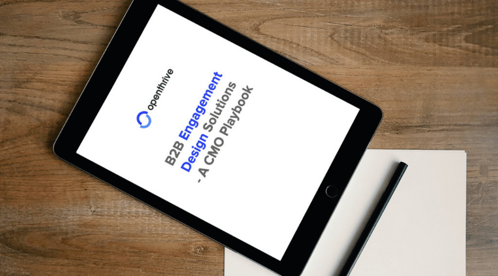 B2B Engagement Design Solutions - A CMO Playbook